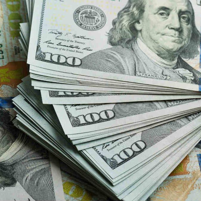 Money Pile Graphic